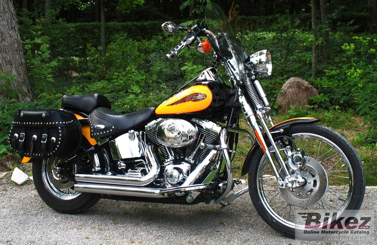 has 145 000 km fxsts springer softail