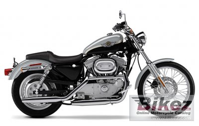 2003 Harley-Davidson XL 883C Sportster 883 Custom photo