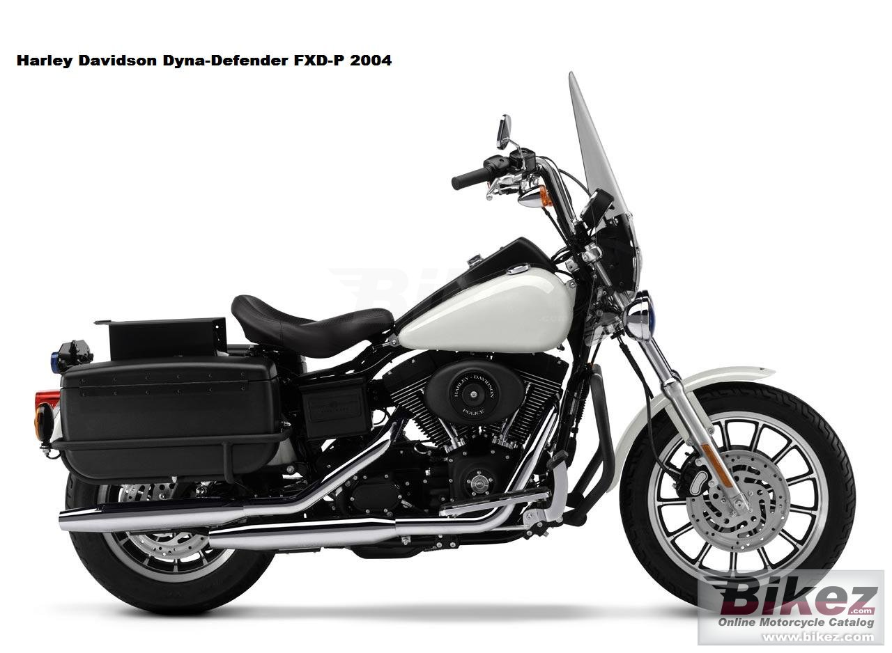 Big  fxd-p dyna-defender picture and wallpaper from Bikez.com