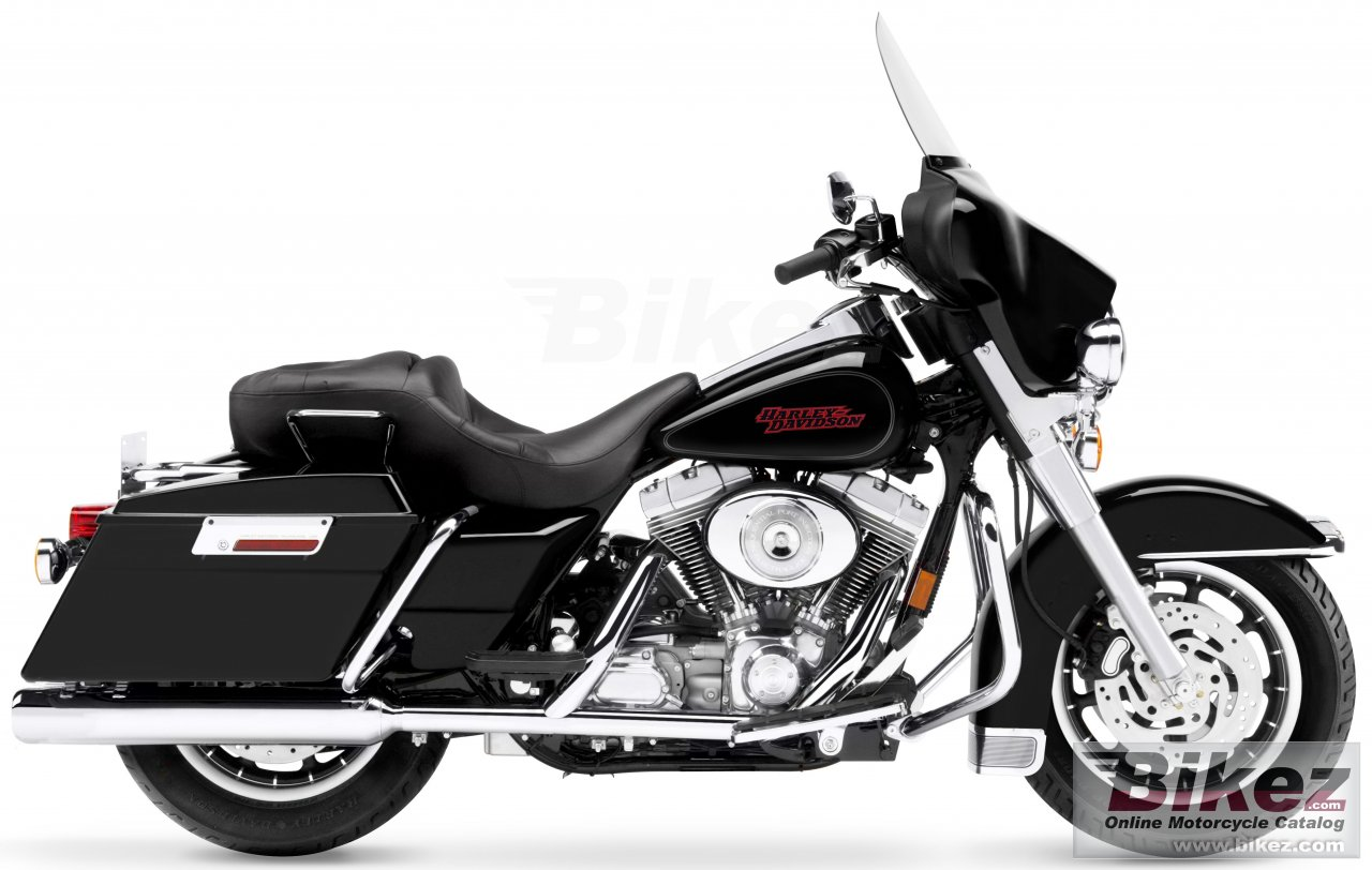 Big Harley-Davidson flhti electra glide standard picture and wallpaper from Bikez.com