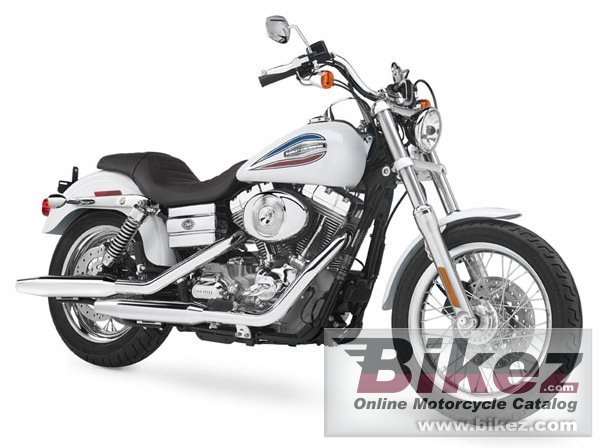 Big Harley-Davidson fxdi35 35th anniversary dyna super glide picture and wallpaper from Bikez.com