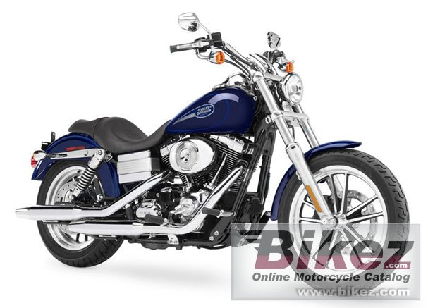 Big Harley-Davidson fxdli dyna low rider picture and wallpaper from Bikez.com