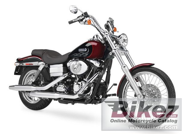 Big Harley-Davidson fxdwgi dyna wide glide picture and wallpaper from Bikez.com