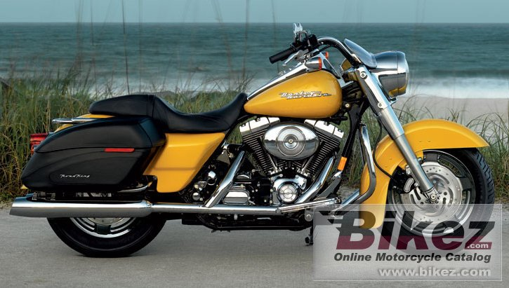 Big Harley-Davidson flhrsi road king custom picture and wallpaper from Bikez.com