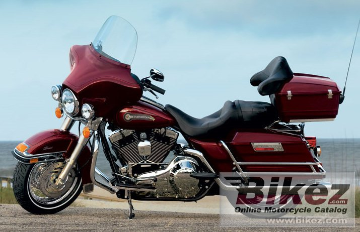 Big Harley-Davidson flhtci electra glide classic picture and wallpaper from Bikez.com