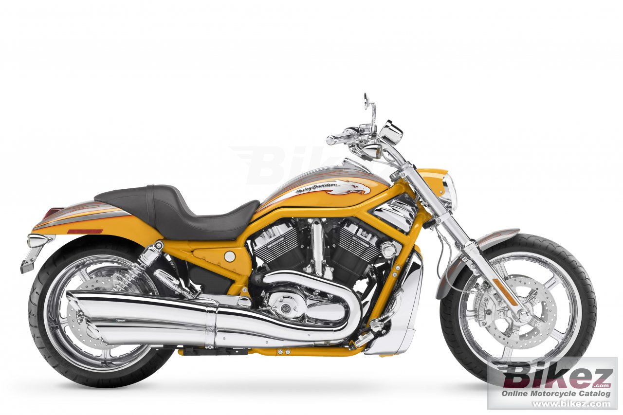 Big Harley-Davidson vrscse screamin eagle v-rod picture and wallpaper from Bikez.com