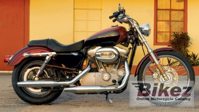 2006 harley davidson xl 883c sportster 883 custom specifications and pictures. Black Bedroom Furniture Sets. Home Design Ideas