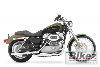 2007 Harley-Davidson XL883C Sportster Custom photo