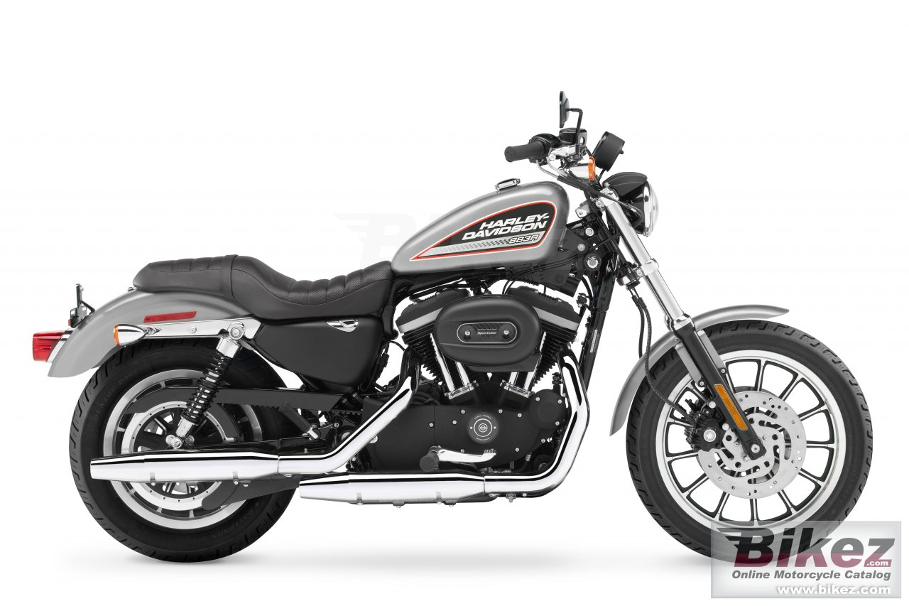 Big Harley-Davidson xl883r sportster r picture and wallpaper from Bikez.com