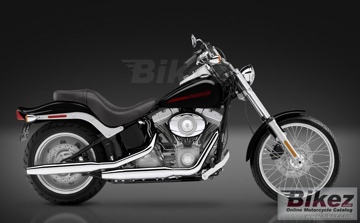 Big Harley-Davidson fxst softail standard picture and wallpaper from Bikez.com