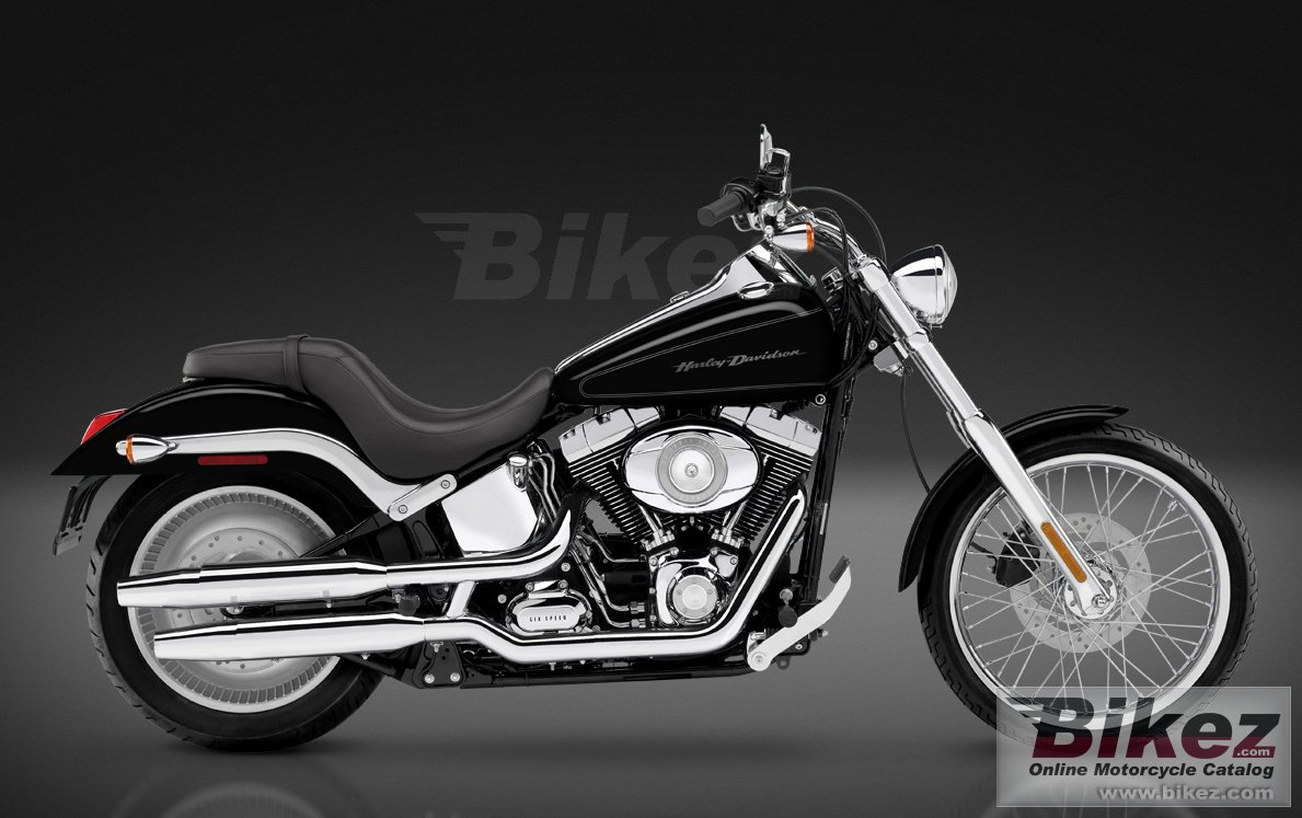 Big Harley-Davidson fxstd softail deuce picture and wallpaper from Bikez.com