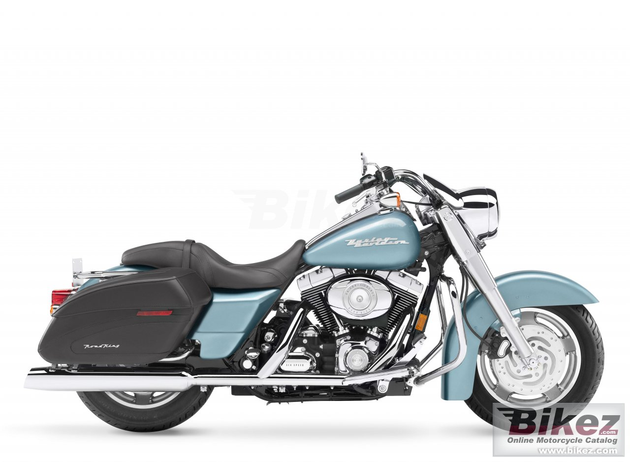Big Harley-Davidson flhrs road king custom picture and wallpaper from Bikez.com