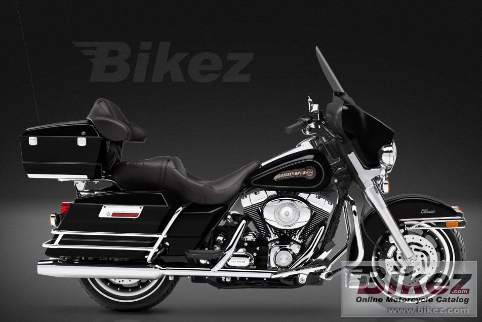 Big Harley-Davidson flhtc electra glide classic picture and wallpaper from Bikez.com