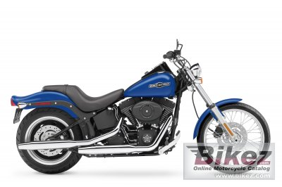 2007 Harley-Davidson FXSTB Softail Night Train specifications and ...