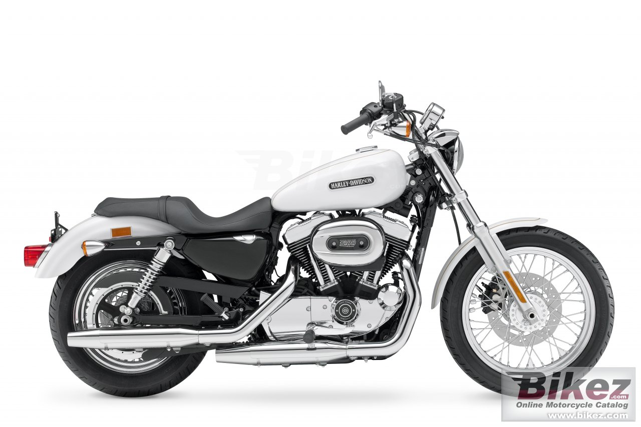 Big Harley-Davidson xl1200l sportster 1200 low picture and wallpaper from Bikez.com