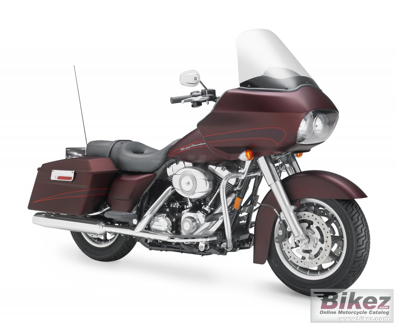 Big Harley-Davidson fltr road glide picture and wallpaper from Bikez.com