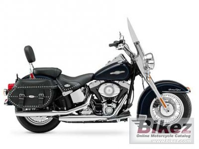 2008 Harley-Davidson FLSTC Heritage Softail Classic Peace Officer photo