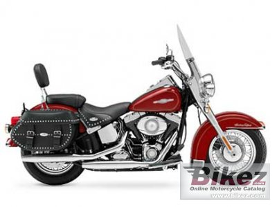 2008 Harley-Davidson FLSTC Heritage Softail Classic Firefighter photo