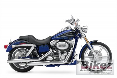 2008 Harley-Davidson FXDSE CVO Screaming Eagle Dyna photo