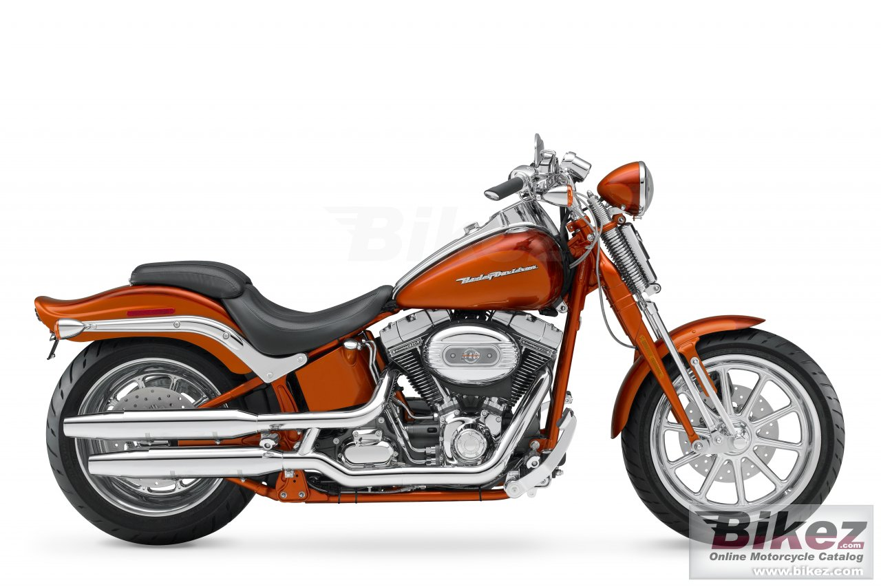 Big Harley-Davidson fxstsse screamin eagle softail springer picture and wallpaper from Bikez.com