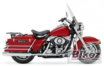 2008 Harley-Davidson FLHP Road King Fire Rescue photo