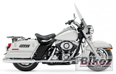 2008 Harley-Davidson PLHP Road King Police photo