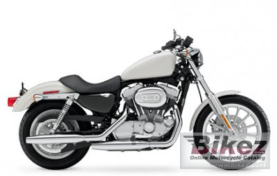 2008 Harley-Davidson XL 883 Sportster Police photo