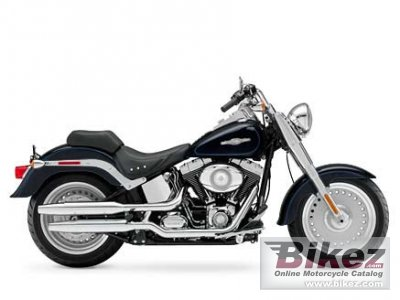 2008 Harley-Davidson FLSTF Fat Boy Peace Officer