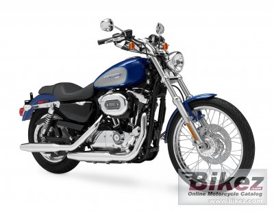 2009 Harley-Davidson XL 1200C Sportster 1200 Custom photo