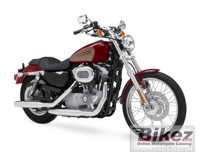 2009 Harley-Davidson XL 883C Sportster 883 Custom photo