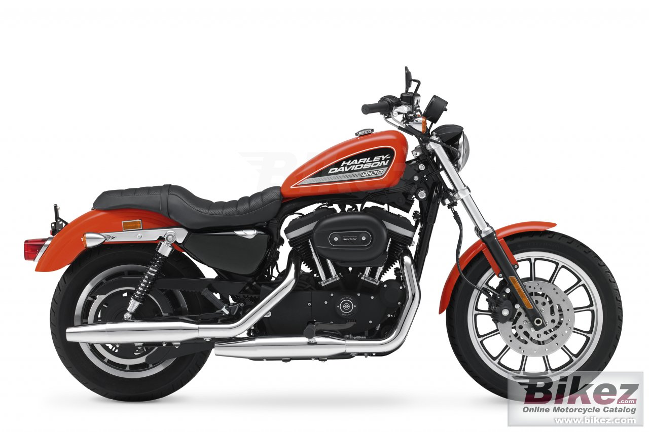 Big Harley-Davidson xl 883r sportster 883r picture and wallpaper from Bikez.com