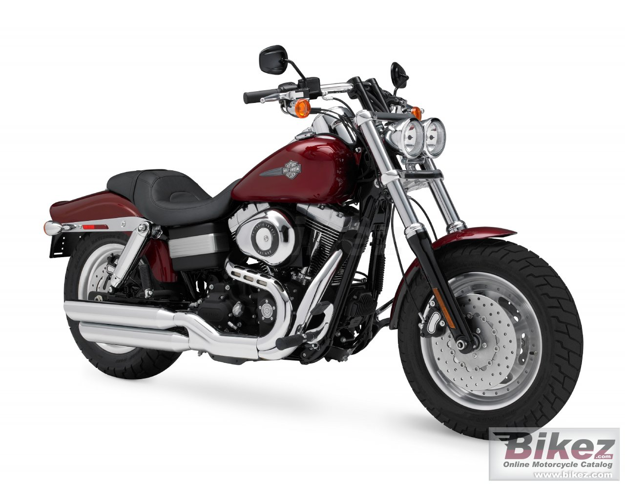 Big Harley-Davidson fxdf dyna fat bob picture and wallpaper from Bikez.com