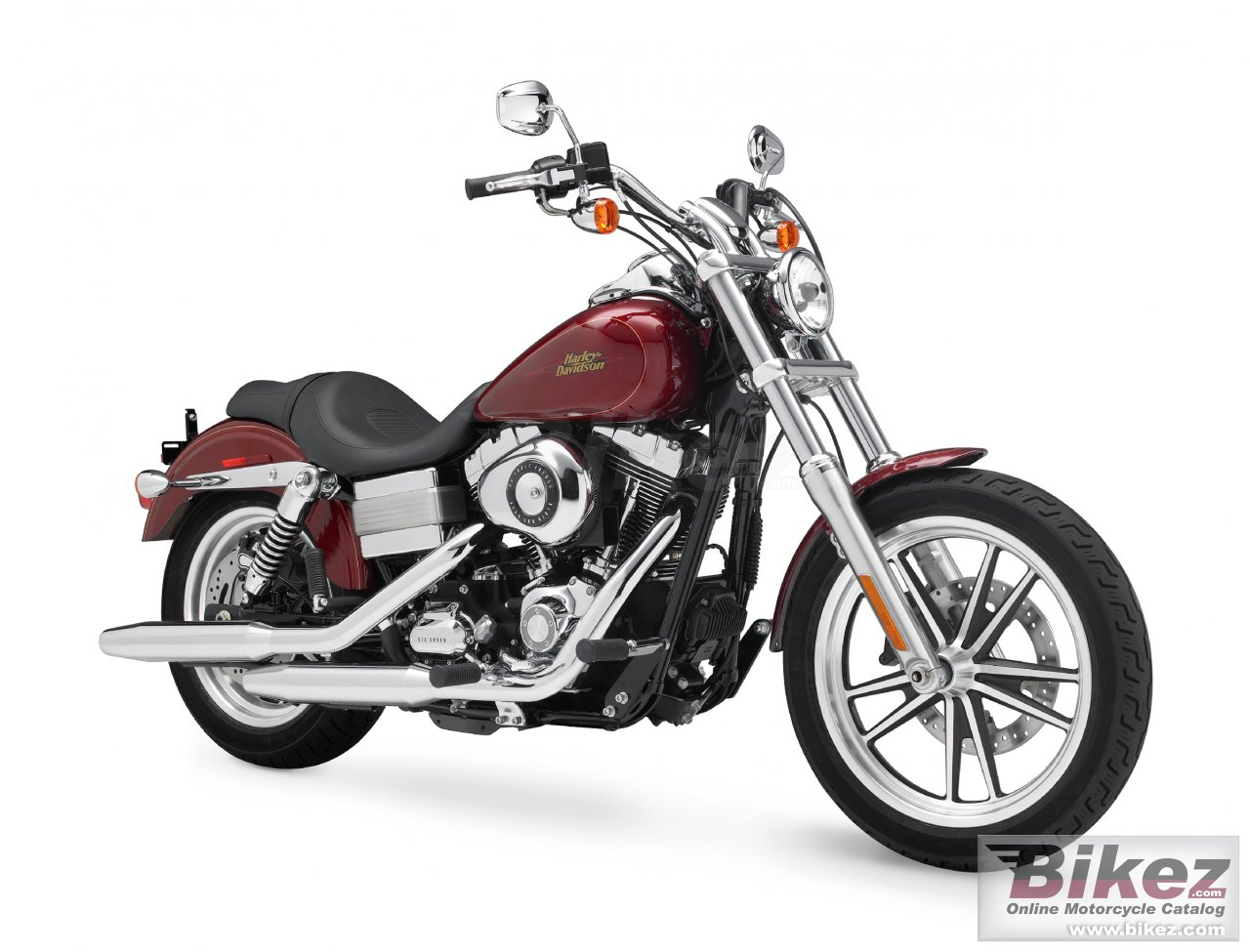 Big Harley-Davidson fxdl dyna low rider picture and wallpaper from Bikez.com