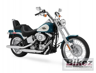 2009 Harley-Davidson FXSTC Softail Custom specifications and pictures
