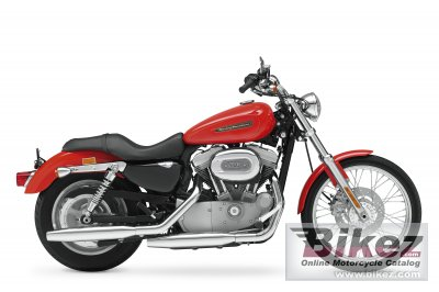 2010 Harley-Davidson XL 883C Sportster 883 Custom photo