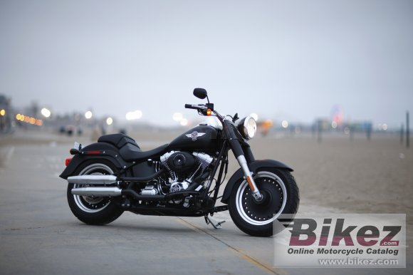 2010 Harley-Davidson FLSTFB Sportster Fat Boy Special photo