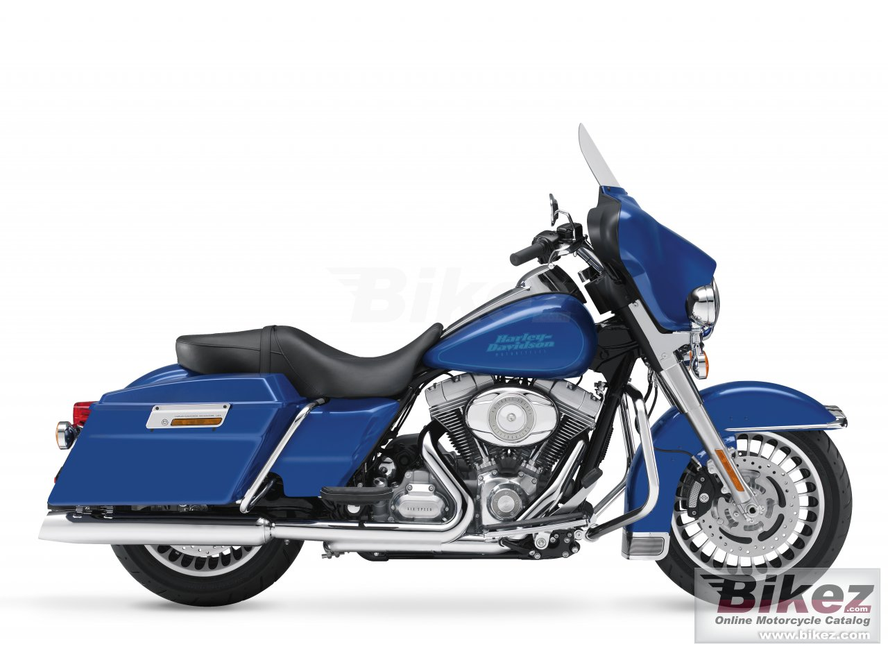 Big Harley-Davidson flht electra glide standard picture and wallpaper from Bikez.com