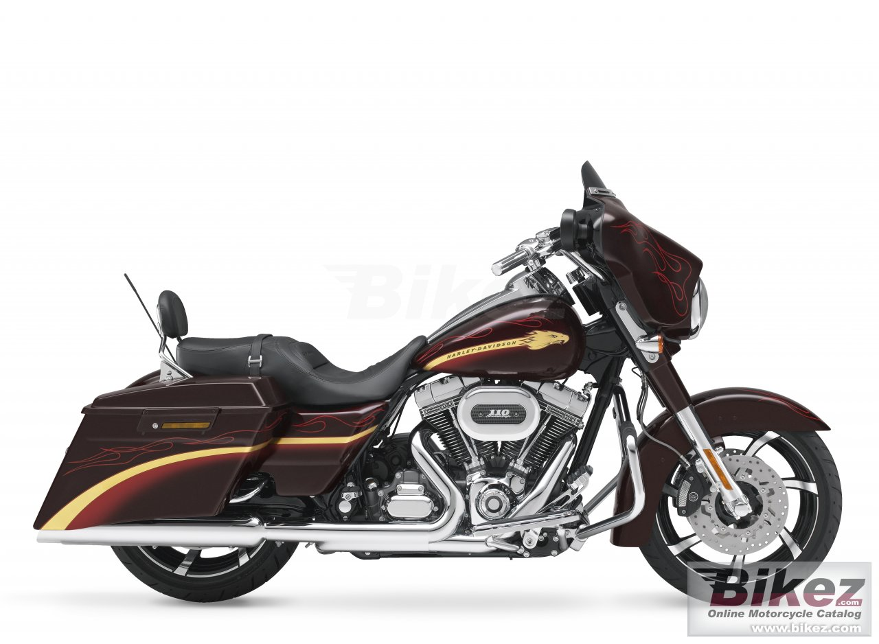 Big Harley-Davidson flhxse cvo street glide picture and wallpaper from Bikez.com