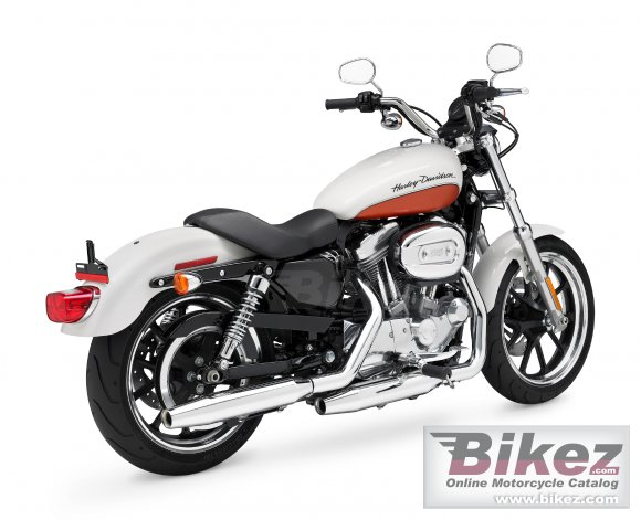 2011 Harley-Davidson XL 883L Sportster 883 SuperLow photo