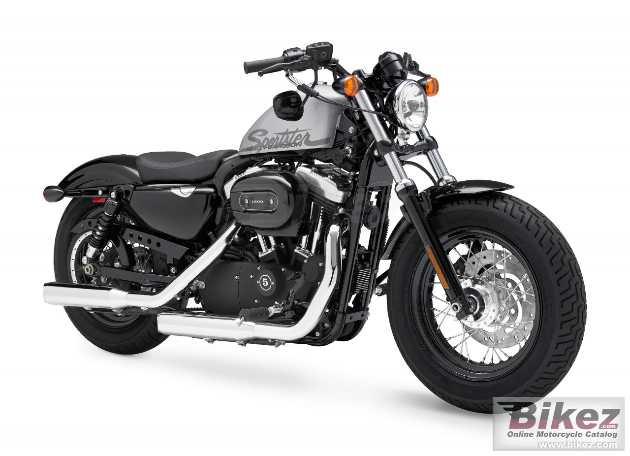 Big Harley-Davidson xl 1200x forty-eight picture and wallpaper from Bikez.com