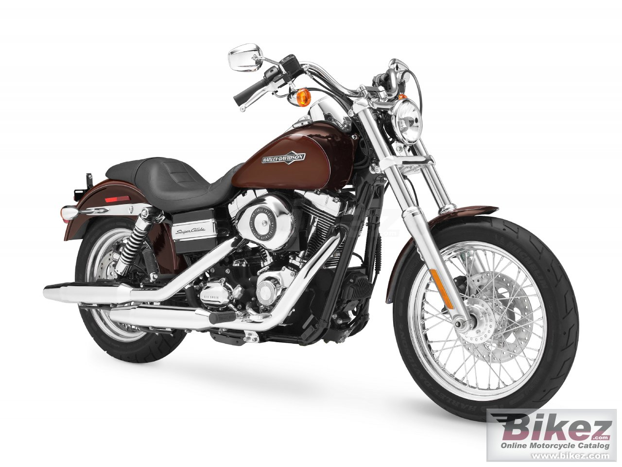 Big Harley-Davidson fxdc dyna super glide custom picture and wallpaper from Bikez.com