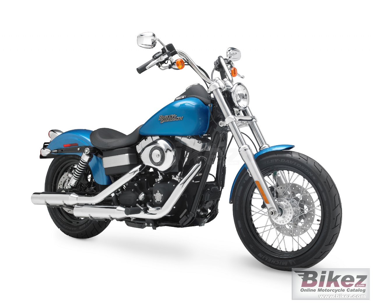 Big Harley-Davidson fxdb street bob picture and wallpaper from Bikez.com