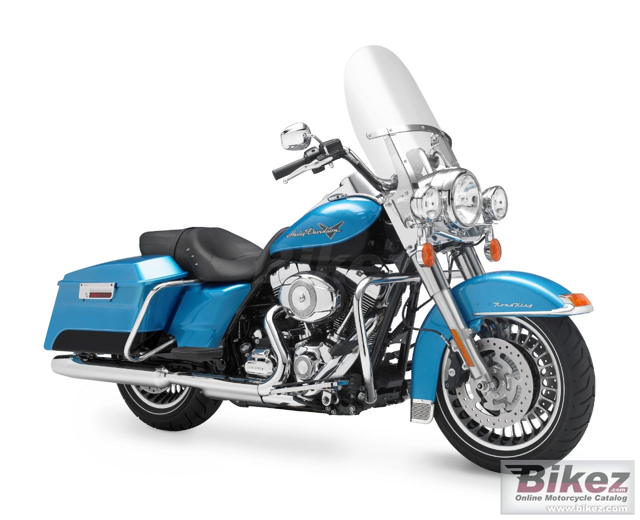 Big Harley-Davidson flhr road king picture and wallpaper from Bikez.com