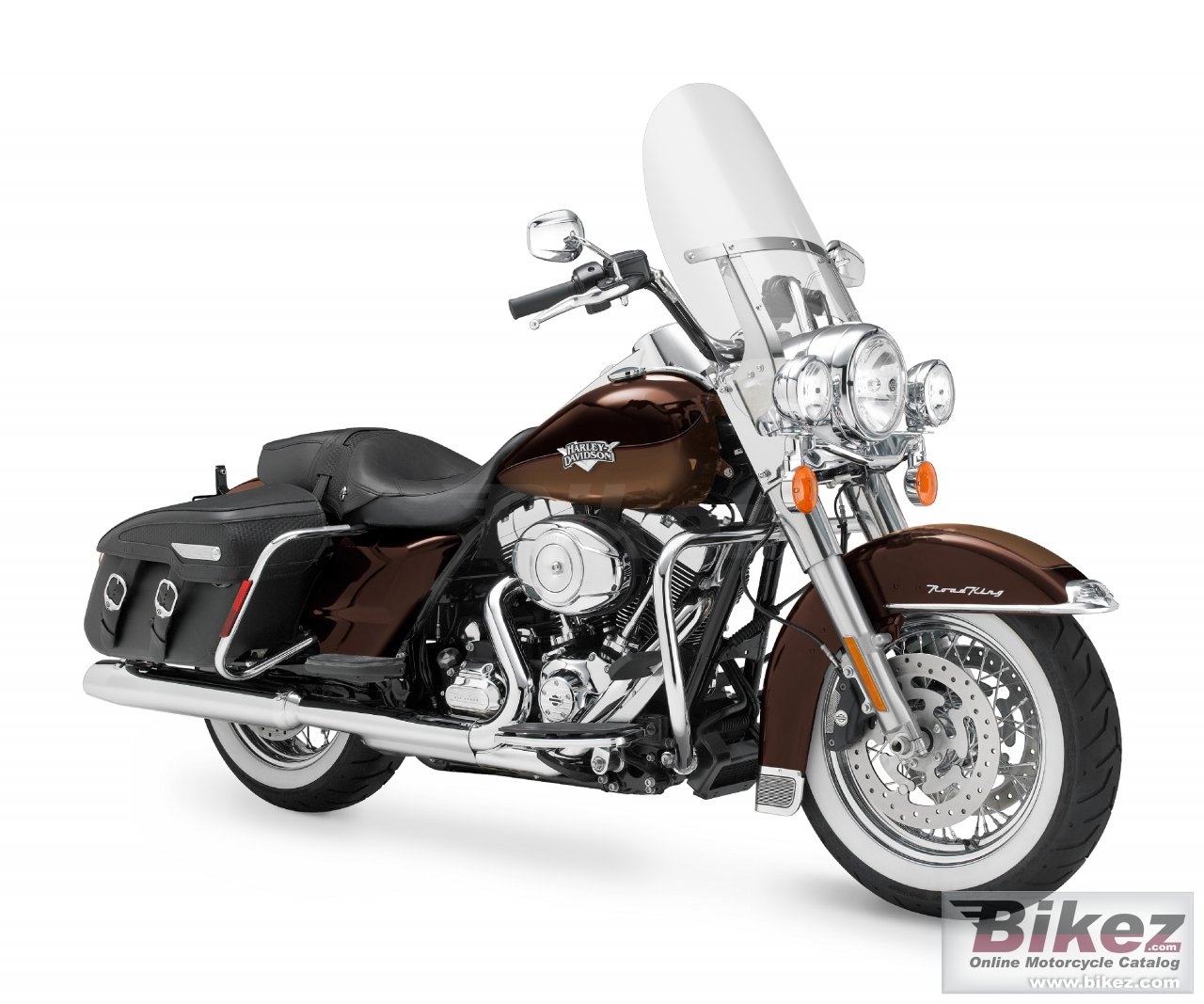 Big Harley-Davidson flhrc road king classic picture and wallpaper from Bikez.com
