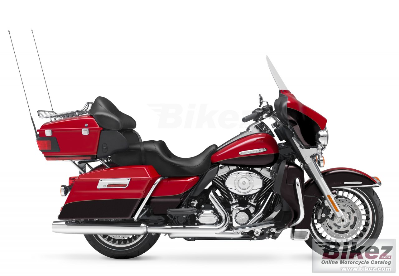 Big Harley-Davidson flhtk electra glide ultra limited picture and wallpaper from Bikez.com