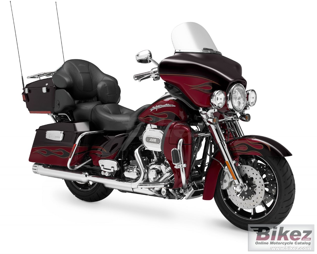 Big Harley-Davidson flhtcuse6 cvo ultra classic electra glide picture and wallpaper from Bikez.com