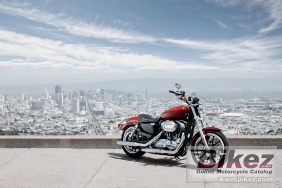 2012 Harley-Davidson XL883L Sportster SuperLow photo