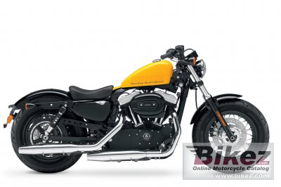 2012 Harley-Davidson XL1200X Springer Forty-Eight photo
