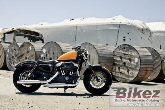 2012 Harley-Davidson XL1200X Springer Forty-Eight