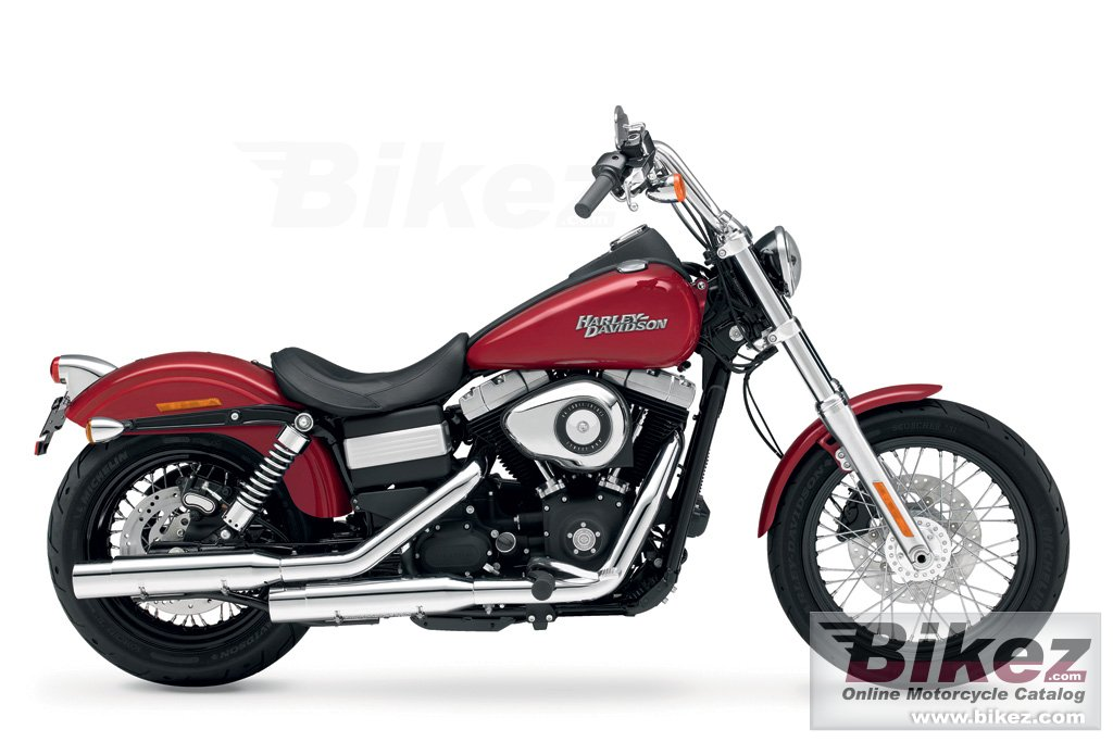 Big Harley-Davidson fxdb dyna streetbob picture and wallpaper from Bikez.com